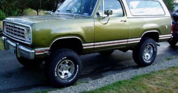 1975 dodge ramcharger | trucks | Pinterest | Dodge ...