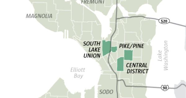 Infographic Seattle39s Gentrification Hotspots  The