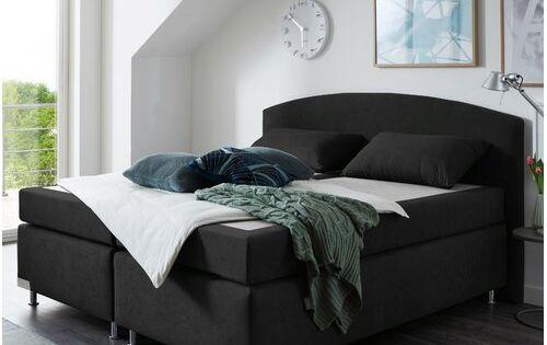 Boxspringbett Amsterdam Elastoflex Farbe Schwarz Liegeflache 200 X 200 Cm Matratzenart Hartegrad Tonnentaschenfederkernmatratze H3 In 2019 Bed Couch