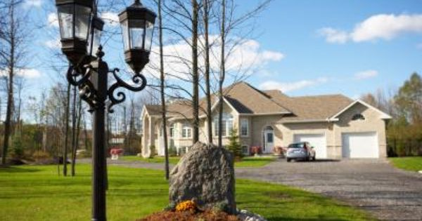 How To Install A Lamp Post With Anchor Bolts In Concrete Lamp Post Driveway Lighting Landscape Lighting