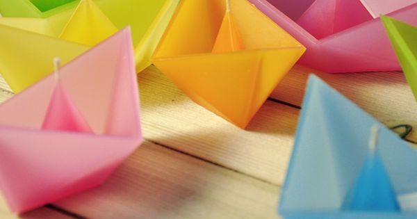 origami candles - roman ficek