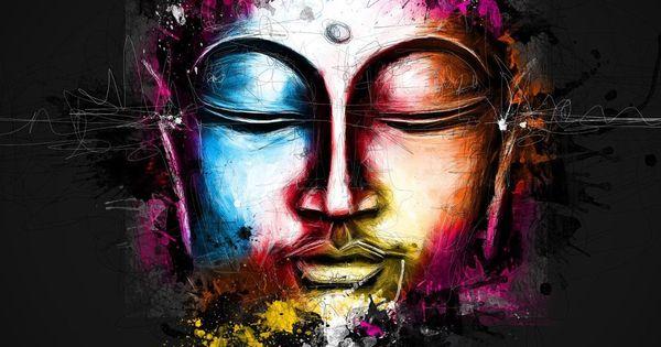 Buddha Art by Patrice Murciano | Buddha | Pinterest | Buddha, Mandela ...
