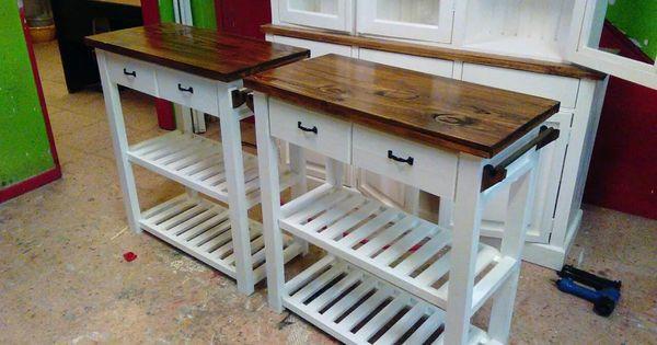 Mesa auxiliar mesas auxiliares de cocina mesa microondas - Mesas auxiliares de cocina ...
