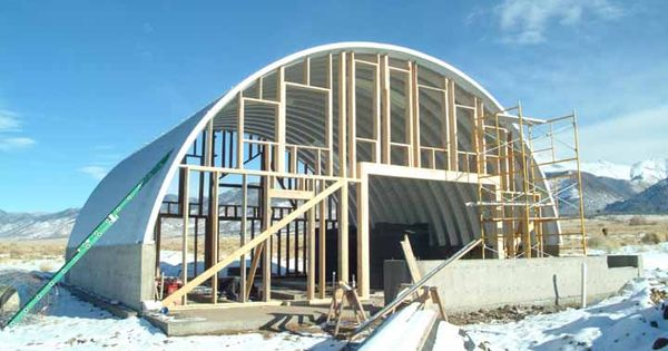 Quonset Photos | Steel Arch Buildings | Pinterest | Home ...