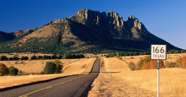 Sawtooth Mountain in Davis Mountains, Fort Davis, Texas