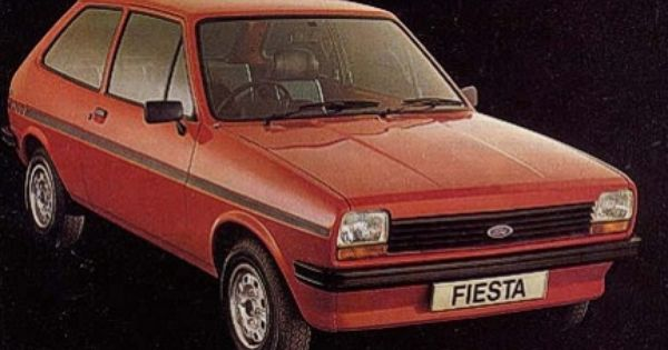 1982 Ford Fiesta My Very First Car Bought In 1985 Just A Week After I Passed My Driving Test Owned It For 2 Years Before I Wra Ford Fiesta Ford Fiesta Cars