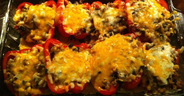 ... Turkey | Recipe | Santa Fe, Stuffed Peppers and Turkey Stuffed Peppers