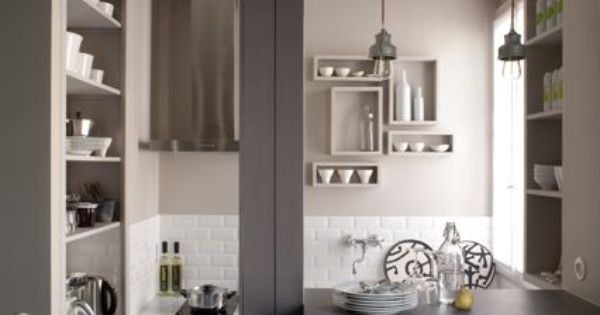 Am Nagement D 39 Un Studio De 18m2 Paris Plein De Charme Home Kitchens Pinterest Pi Ces
