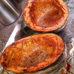 Chef John S Baked Acorn Squash Recipe With Images Acorn