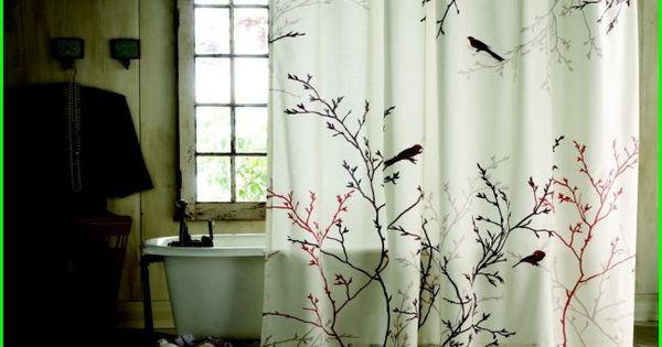 Vintage Bird Shower Curtain Shower Curtain Ideas Pinterest Bird Shower Curtain