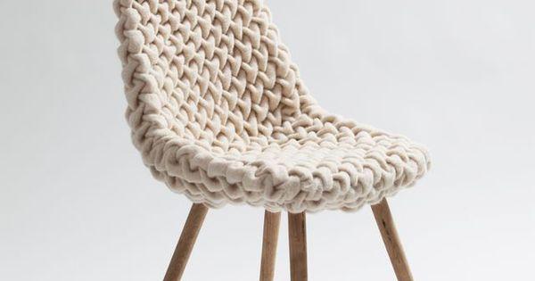 Smok Chair by Austrian furniture designer Hans Sapperlot. design furniture chaise luxury