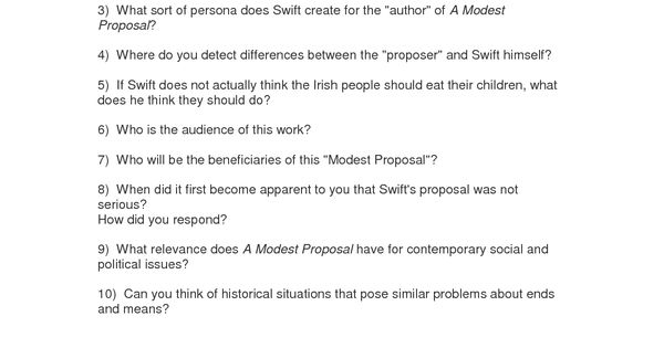 the elements of satire in a modest proposal Writing: tragedy, irony, satire rating  satire, and tragedy by learning the elements of these  in a modest proposal, jonathan swift suggests that the best.