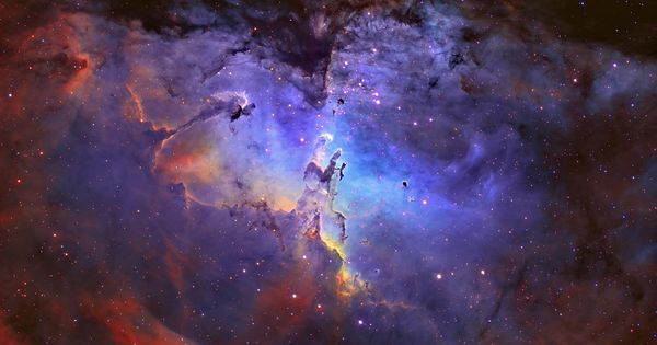 The Iconic Eagle Nebula: This looks like an angel praying to me!