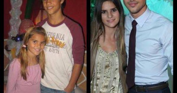 Taylor Lautner con su hermana Makena Lautner :) |