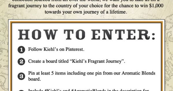Kiehls Fragrant Journey
