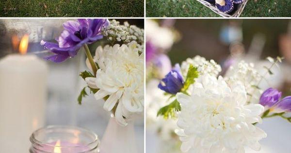 ... couleur/decoration-mariage-violet/  Mariage  Pinterest  En vogue
