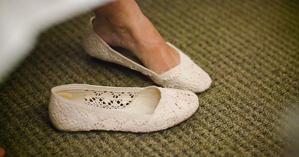 lace flats to change into for dancing!