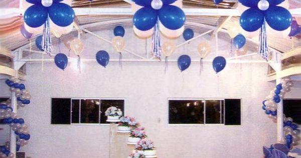 Decoracion y ornamentacion de 15 buscar con google Ornamentacion con globos