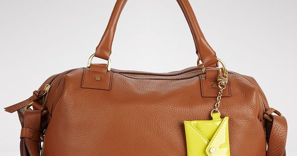 I have a weakness for leather bags!