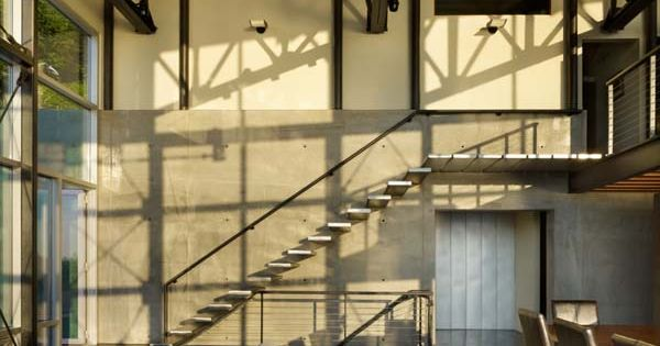 Cantilevered Stairs  07.Staircase  Pinterest