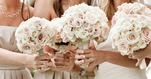 beautiful blush bouquets