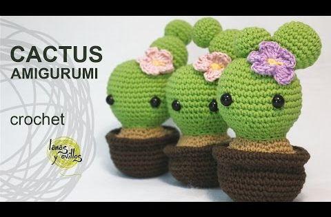 Amigurumi Cactus Lanas Y Ovillos : CACTUS Lanas y ovillos CACTUS/ARBOLES/PLANTAS ...