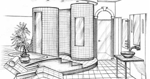 interior design sketches architectural ideas pinterest them