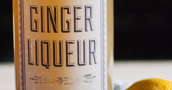 DIY ginger liqueur recipe | Beverages, Cocktails ...