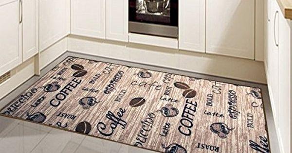 Teppich Modern Flachgewebe Gel Läufer Küchenteppich