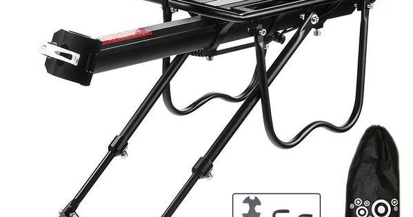 "For Disc Brake Mount Heavier /"" Bicycle Touring Carrier Plus Cargo Racks Bike"