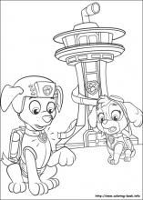 Paw Patrol Coloring Pages On Coloring Book Info Paw Patrol Coloring Pages Paw Patrol Coloring Paw Patrol Christmas
