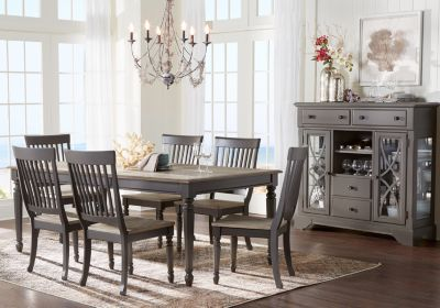 Cindy Crawford Home Ocean Grove Gray 5 Pc Dining Room Nbsp