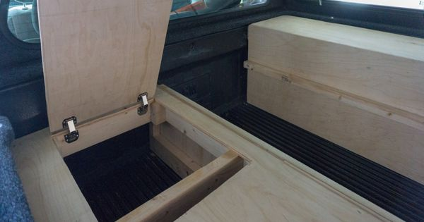 Truck Camper Setup Building Tips For Your Camper Shell Conversion Camper Shells Truck Camper Shells Truck Camper