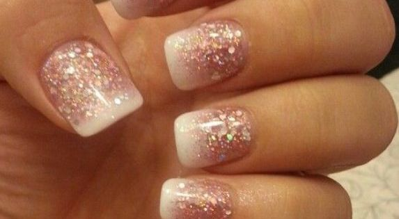 Gel Nail Designs with Glitter | Download HERE >> Cute Easy Glitter