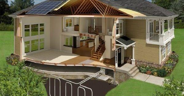 Casa ecol gica pinterest - Casa ecologicas prefabricadas ...