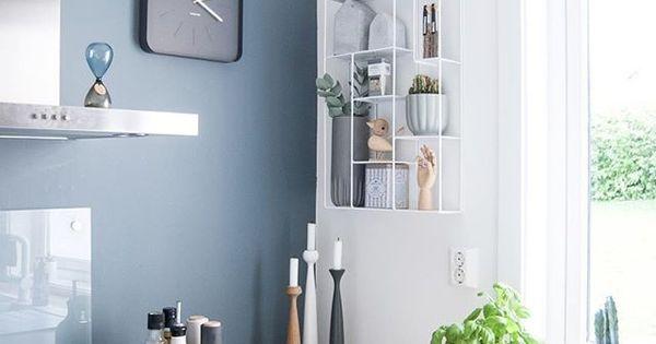 wandfarbe wandgestaltung beleuchtung pinterest k che wohnen und wandgestaltung. Black Bedroom Furniture Sets. Home Design Ideas
