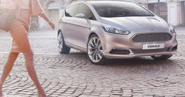 Ford S Max Vignale Concept 2014 Ford Vignale Ford Ford News