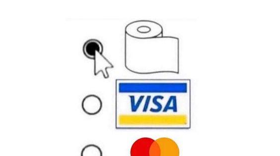 Neue Zahlungsmethode Papier Memes Lachen