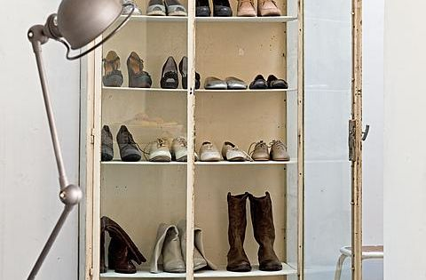 Shoe closet. pinned by www.auntbucky.com shoes storage