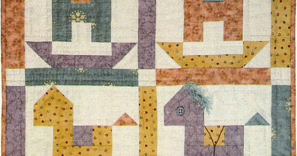 Rocking Horse Quilt Pattern By Lori Smith Baby Gifts