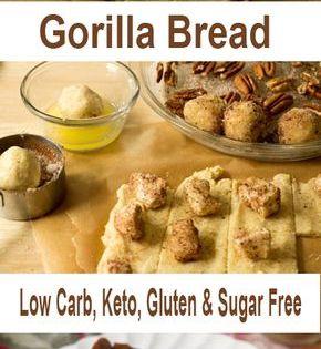 Gorilla Bread Low Carb Keto Gluten Sugar Free Gorilla