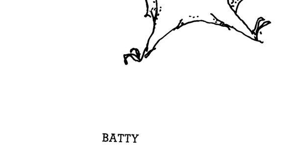 Shel Silverstein Halloween: Batty By Shel Sinverstein