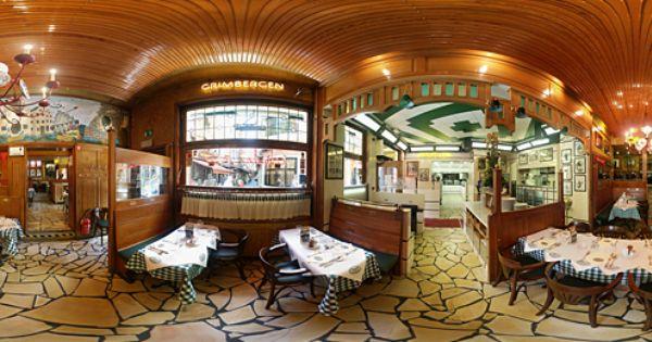 Visite Virtuelle Du Restaurant Chez Leon De Bruxelles Visite Virtuelle Liege Belgique Photographie Panoramique