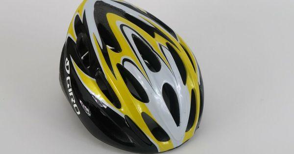 Giro Transfer Yellow Black Cycling Helmet Road Bike Mtb Adult Size 54 61cm Giro Cycling Helmet Road Bike Helmet