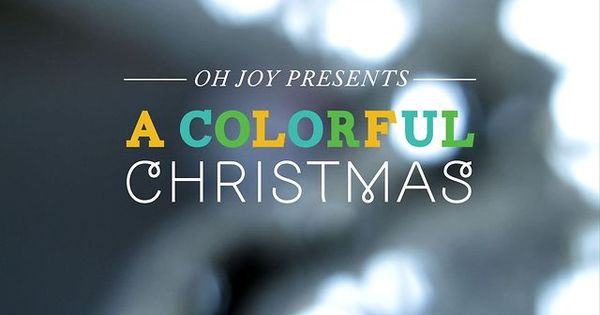 A Colorful Christmas —Oh Joy + The Land of Nod by The