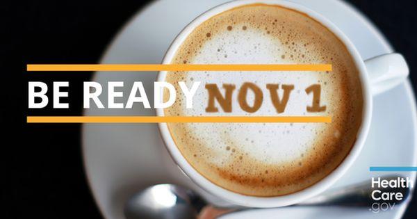Get Ready Open Enrollment Starts November 1 Sign Up For Email