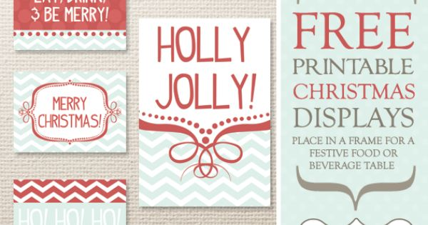 free holiday printable papers and tags
