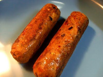 Gluten Free Spicy Italian Sausages Recipe On Yummly Vegetarian Sausages Vegetarian Vegan Recipes Vegetarian