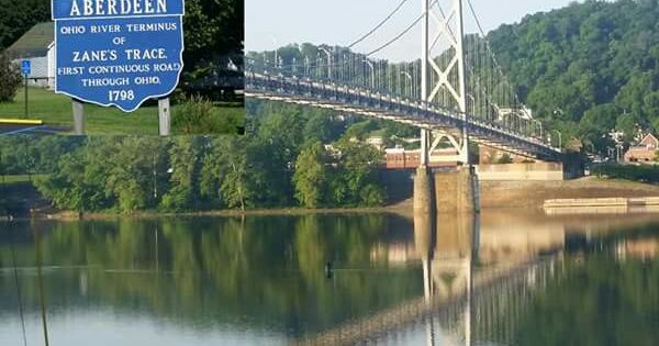 Maysville Ky Bridge Over The Ohio River To Aberdeen Ohio Ohio River Maysville Ohio