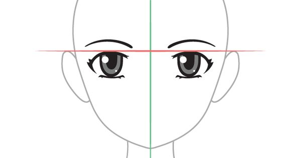 Anime Eyes Placement On Head Eye Drawing How To Draw Anime Eyes Anime Eyes